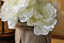 Linen, Burlap, Hemp and Cotton