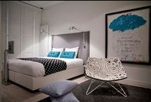 Hotelinterieurs / Inspiratie nodig voor het inrichten van je huis? Neem een kijkje bij deze aantrekkelijke hotelkamers.