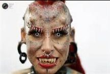 BODY MODIFICATIONS / I LOVE EVERYTHING THAT HAS TO DO WITH BODY MODIFICATION.