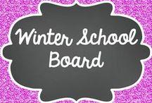 Winter-School board