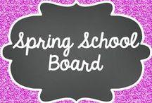 Spring - School Board