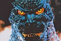 Godzilla Rocks / Loved Godzilla... he always rocked the world he stepped into.