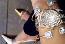 Blings and Things / vision board for all types of fashionable accessories and jewelries