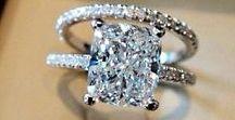 THE RING | DIAMONDS | TUNGSTEN | RUBY / Engagement, Wedding, Diamond, Bands