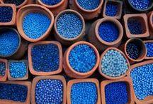 Blue Inspiration / I love blue! / by Maggie Schildmeyer