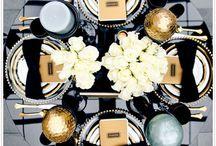 WEDDING | DINNERWARE / Plates, Forks, silverware