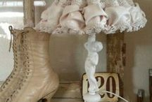 Shabby Lamps and Shades