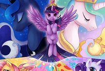 ● My little pony ● / Yeah, I really love this sweet ponies.