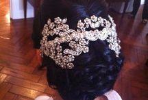 BRIDAL STYLES ON NATURAL HAIR / Elegant hairstyles on natural hair