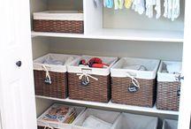 ORGANIZATION | BABY | KIDS / Kids and baby storage and organization