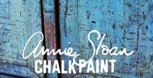 Chalk Paint Colors and Combinations / Annie Sloan Paint Colors and the combinations made to make new colors, layer or make chippy for gorgeous results.
