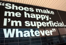 Shoes--wonderful shoes!! / The name of the board says it all!   / by Carrie Sikes