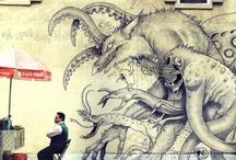 STREET ART / on the streets... / by Debra Rainone