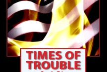 Times of Trouble: a Christian End Times Thriller / The Atwood family watches the U.S. descend into chaos as the End Times approach. #christianfiction #endtimes #thriller