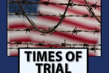 Times of Trial: a Christian End Times novel. / In this parallel novel to Times of Trouble, but can be read as a stand-alone novel, the government sends people to re-education camps, Iran tries to start a war, and the President of the United States declares a dictatorship as the End Times approach. #christianfiction