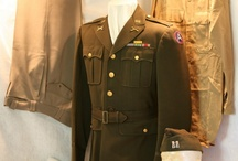 WWII Allied and Axis Uniforms / by Cynthia Southern