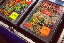 Comic books & Action figure Adventures / Collecting rare and fun comics books n' actions figures at Collectors shows across the Bay Area!