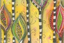 doodles & tangles / by Lisa Curnutt