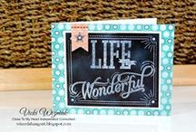 Close To My Heart Scrapbooking + Cards / Projects created using Close To My Heart paper crafting products.