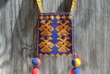 Vintage Rustic Cabin, Mountain Decor, Southwestern / Southwestern Ranch and Cabin Decor Hand Crafted Native American Decor  / by WeeLambieVintage