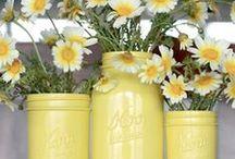 DIY candle holders/vases / by Kelli Jordan