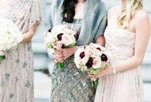 weddings bridesmaids & groomsman / by Blynda DaCosta
