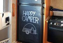camper ideas / This is a board full of ideas for our pop up camper.  Ways to fix it or change it. or use it better. Post your best ideas