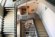 Interior Design: Stairs and Halls