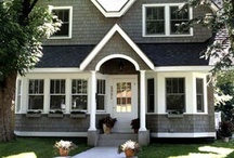 Outdoors - Front Exterior / by Hm Harris