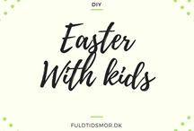 DIY: Easter with kids / Fun DIY easter projects to do with your kids