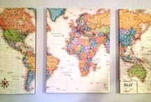 Theme: Maps / by Kelly McCants