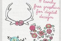 Graphics + Fonts + Printables / by Wanderlust Collection