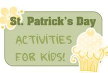 St Patrick's Recipes, Crafts, Education / Recipes, crafts, and educational ideas for St. Patrick's Day / by 3 Boys and a Dog