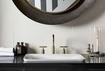 Bathroom Bliss / Modern bath products and design ideas that keep bathrooms looking and feeling fresh.