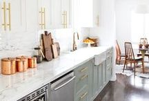 Kitchen Crush / Great product and kitchen decor ideas, from modern to traditional designs and more.