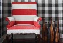 Mad About Patterns / Area rugs, wallpaper, curtains, clothes and custom furniture - use pattern for bold decor looks. / by ATGStores.com