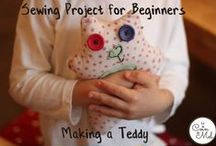 Sewing / Sewing ideas for beginners, tutorials, cute handmade presents and toys