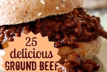 Recipes to Try: Beef / Beef recipes to try - ground beef, steaks, stir-fry and quick beef meal ideas / by 3 Boys and a Dog