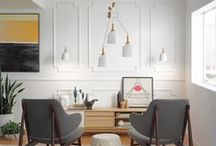 TREND | Modern Edge / Think outside of the box and explore alternative looks with these modern furniture and decor ideas.