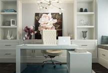 HOME | Boss Office / Ah, the home office - two words that probably shouldn't even be combined. It doesn't have to be as depressing as it sounds, though. Make your home office an oasis with furniture, chairs, lighting and inspired decor ideas.