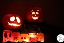 Children... Halloween / Tons of ideas for Halloween: crafts, food, decorations, fun activities
