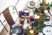 Thanksgiving / The bird, love, and love of the bird is 99% of the holiday.  Food and decor ideas. / by ATGStores.com