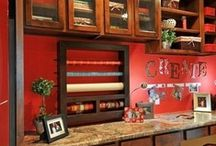 adorn me: craft rooms / Ideas for crafting the ultimate craft room.