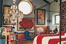 adorn me: bedrooms / No need to sleep on those decorating ideas for the boudoir.