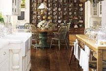 """adorn me: kitchens / Fabulous ideas for that favorite room in the house. More kitchen inspiration at Board """"adorn me: kitchen, seating"""
