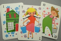 collect me: vintage playing & flash cards