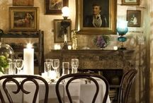 adorn me: dining rooms / Decorating ideas for dining rooms.