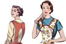 cover me: vintage aprons