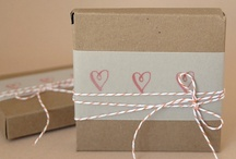 Gift Wrap and Branding / Ideas for branding, gift wrap for clients and other random stuff. #Business #Brand