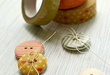 Washi Tape / Crafts and ideas, using Washi Tape - Washi Wednesdays